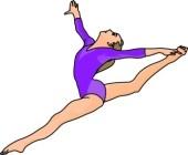 Gymnastics Clipart | Excalibur Gymnastics School - Virginia Beach ...