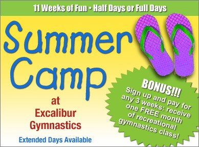summer gymnastics camp virginia beach