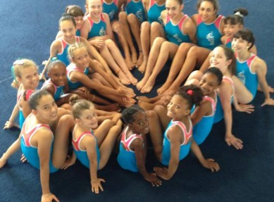 competitive gymnastics teams